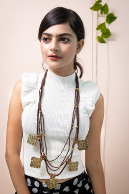 Miharu Miharu PanchRatan Statement Necklace