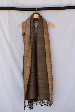 Avani-KumaonSilk wool shawl-27