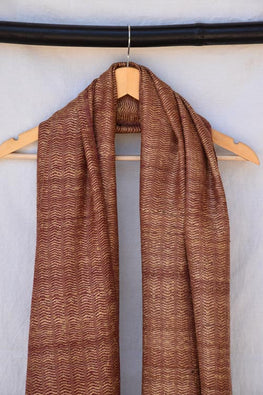Avani-KumaonSilk wool shawl-28