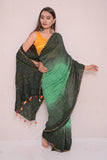 Moonga Multi Bharti Saree-26