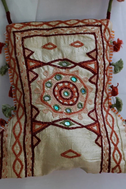 Okhai 'Rann Ki Rani' Kutch Embroidery Sling Bag
