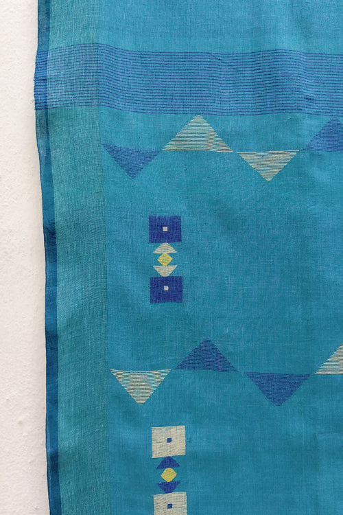 Jamdani-Handwoven Cotton Sarees