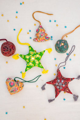 Okhai 'Charms' Christmas Ornaments (Pack of 6)