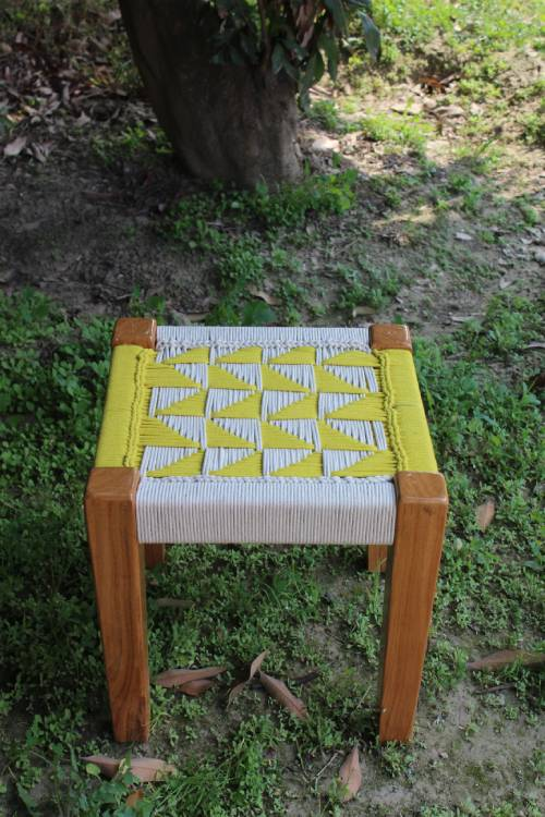 Sirohi-Every Room Stool Style 2 v.Yellow