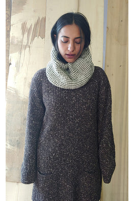 The Color Caravan Hygge Unisex Snood 01 Handmade Woolen Snood Scarf Online