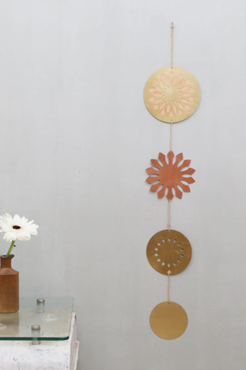 Sunflower Meditation Wall Décor