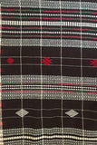 Kotpad' Tribal Odisha Handloom Cotton Saree Checks Black