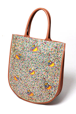 Studio Moya-TOTE-U/PEACOCKS IN THE JUNGLE