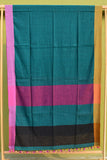 Tant Vastra' Bengal Handloom Soft Cotton Plain Saree