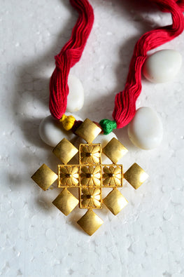 Tant Vastra' Innovative Handcrafted Jewelry Medallion.