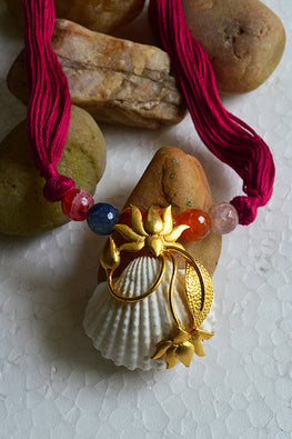 Tant Vastra' Innovative Beads Handcrafted Goldend Jewelry