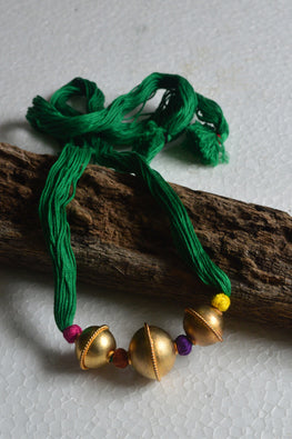 Tant Vastra' Innovative Handcrafted Beaded Golden Jewelry