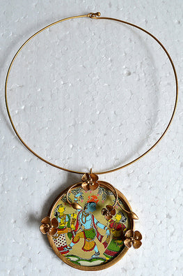 Tant Vastra' Innovative Handcrafted Krishna Jewelry