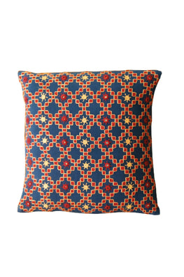 Kharak Overall Embroidered Cushion Cover 12X12