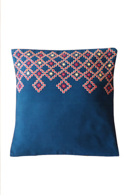 Kharak Embroidered Cushion Cover 16X16