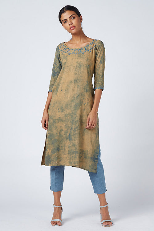 Okhai 'Fairydust' Tie-Dye Rayon Dress