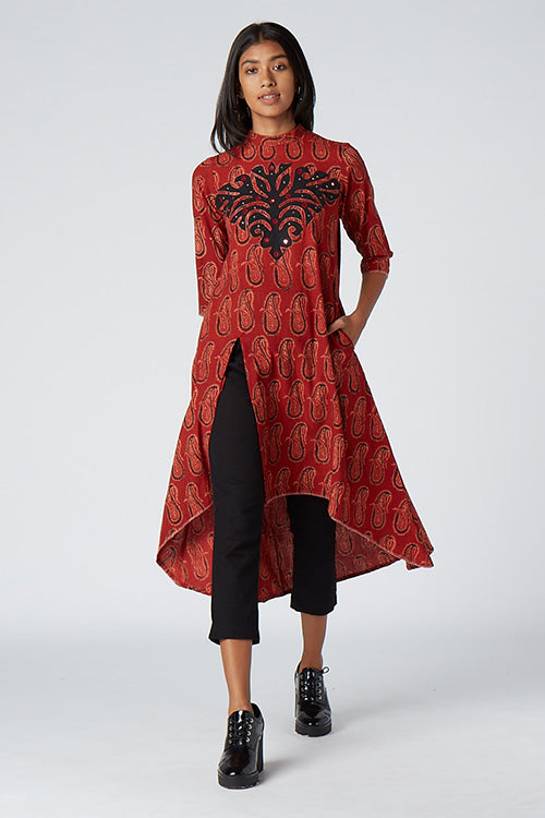 Okhai 'Treasure' Appliqué Work Kurta
