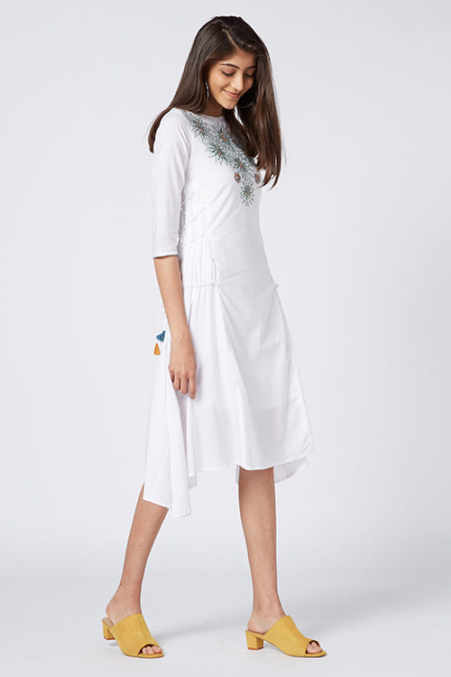 Okhai 'Bora Bora' Organic Cotton Cambric Dress