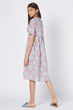 Okhai 'Belle' Cotton Block Print Dress