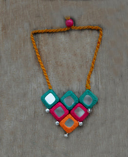 "Okhai ""Banjara Beauty"" Handmade Necklace"