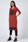 Okhai 'Flourish' Appliqué Work Cotton Kurta