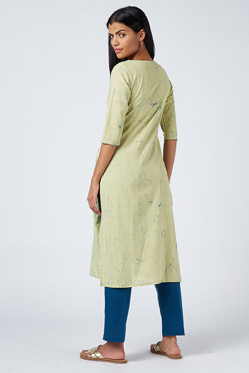 Okhai 'Moonshine' Tie-Dye Cotton Kurta