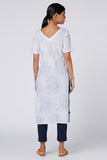 Okhai 'Royal March' Cotton Hand Block Print Kurta