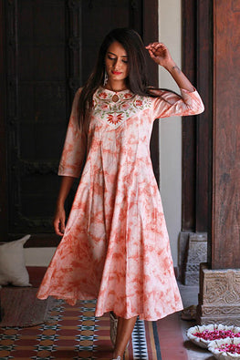 "Okhai ""Persian Dream"" Tie & Die Dress"