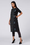 Okhai 'Miracle' Cotton Dhabu Embroidered Kurta