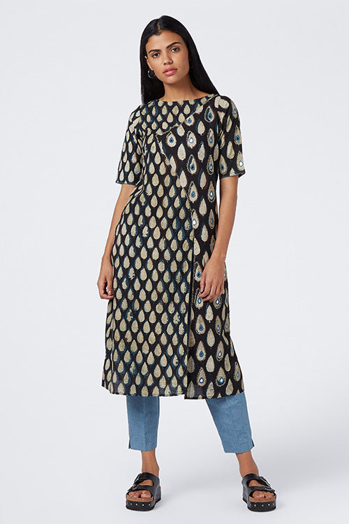 Okhai 'Exquisite Dream' Cotton Dhabu Kurta