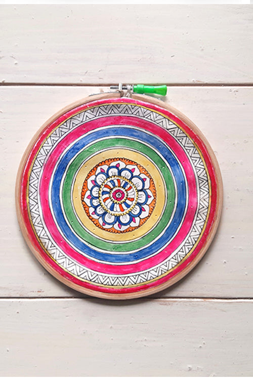 Studio Moya-WALL FRAME-MADHUBANI COLOR RINGS