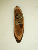 Wood & Dhokra Craft Key Hanger