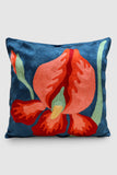 "Kashmir Chainstitch Cushion Cover 16""by16""-9"