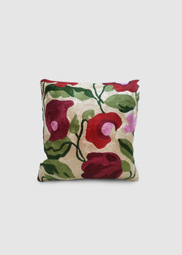 Kashmir Chainstitch Cushion Cover