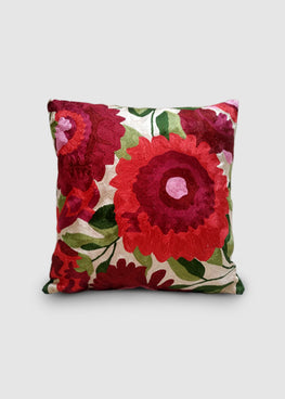 Kashmir Chainstitch Cushion Cover-1
