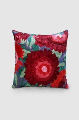 Kashmir Chainstitch Cushion Cover-2
