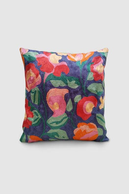 Kashmir Chainstitch Cushion Cover-4