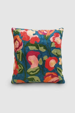 Kashmir Chainstitch Cushion Cover-5