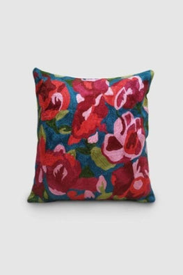 Kashmir Chainstitch Cushion Cover-9