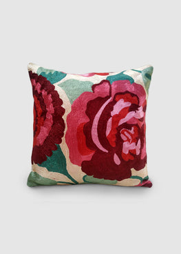 Kashmir Chainstitch Cushion Cover-10