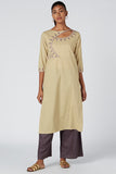 Okhai 'Enchant' Bavariyo Organic Cotton Cambric Kurta
