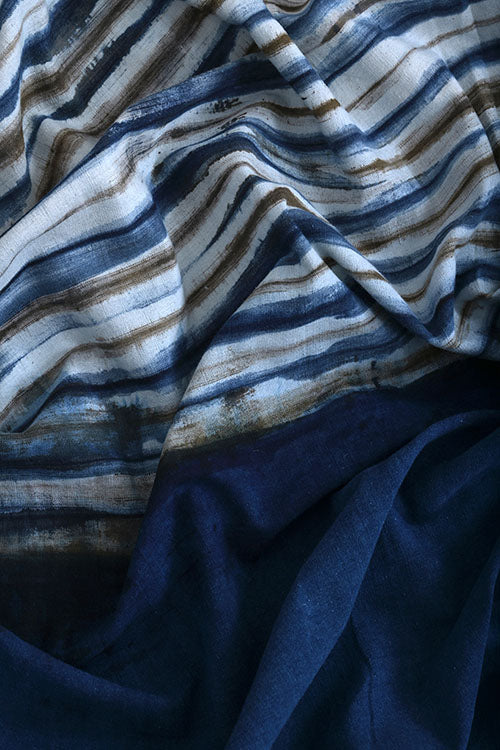 Natural-Dye-Shibori-Cotton-Fabric (3 Meter)