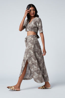 Okhai 'Free' Cotton Top-Skirt Set