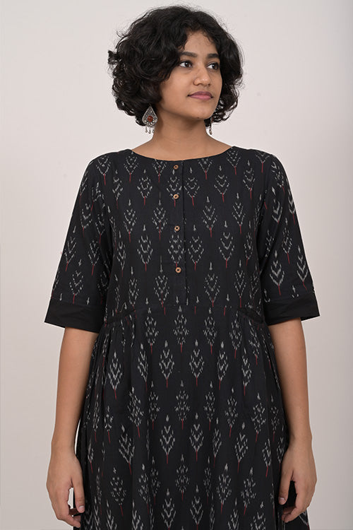 Okhai Ikat Dress For Women Online