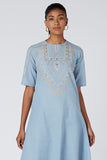 Okhai 'Healer' Embroidered Cotton Dress
