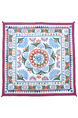 Okhai White Hand work Wall Hanging