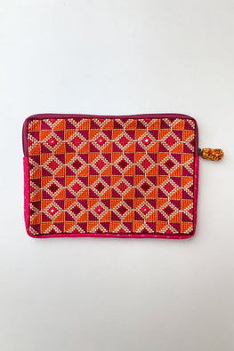 Shrujan Jat Embroidery Pouch-1