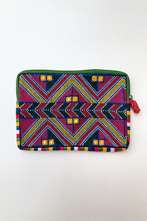 Shrujan Jat Embroidery Pouch-13