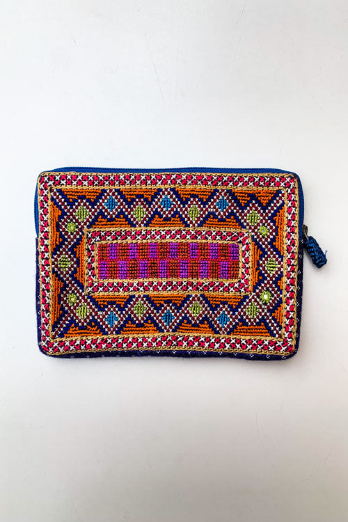 Shrujan Jat Embroidery Pouch-14