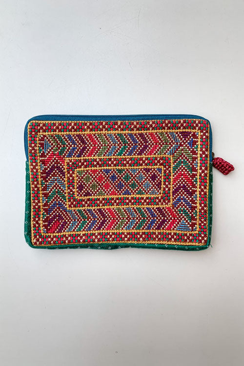 Shrujan Jat Embroidery Pouch-6